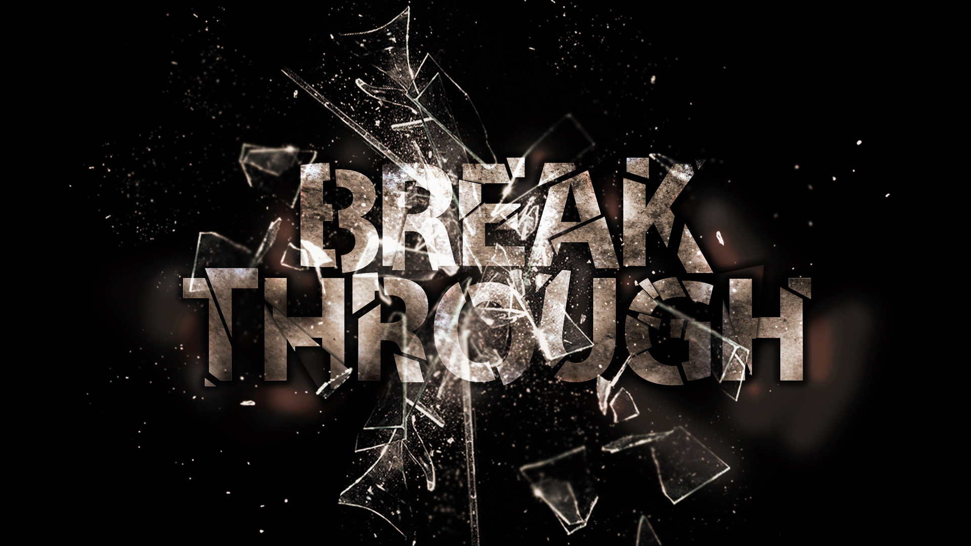 From brokenness to breakthrough