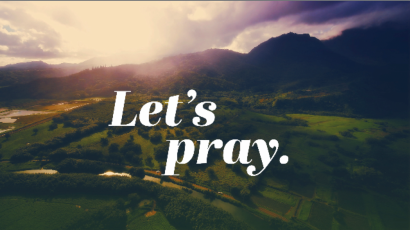Let's Pray – Prayers of Healing