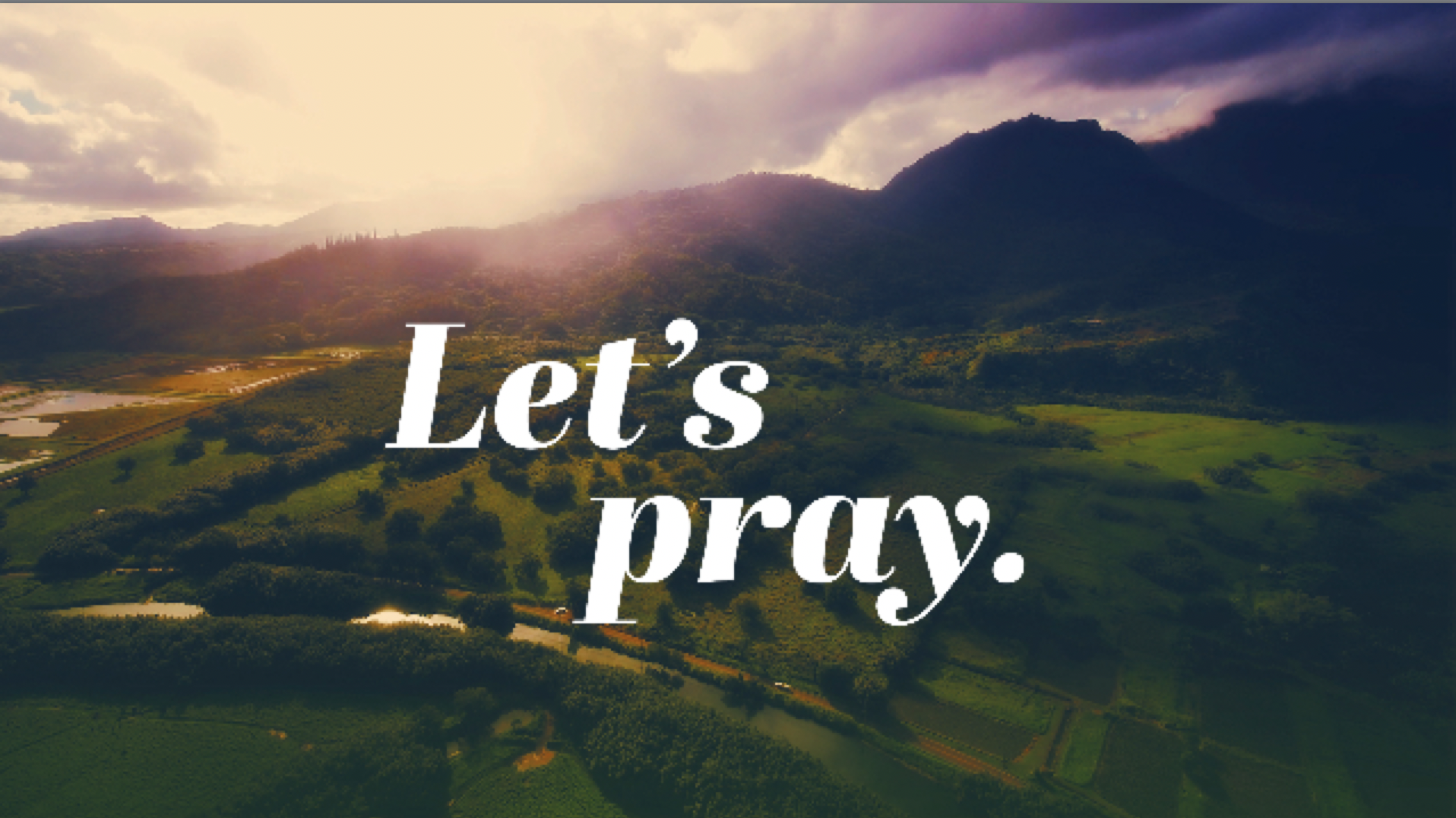 Let's Pray - Prayers of Healing